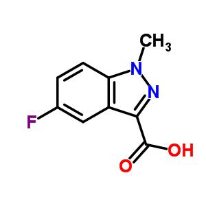 886368-88-3 5-Fluoro-1-methyl-1H-indazole-3-carboxylic acid