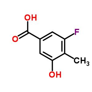 887267-08-5 3-fluoro-5-hydroxy-4-methyl-benzoic acid