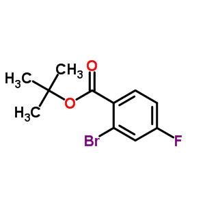 889858-12-2;951884-50-7 tert-butyl 2-bromo-4-fluoro-benzoate