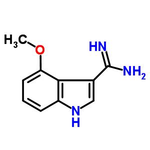 889944-24-5 4-methoxy-1H-indole-3-carboxamidine