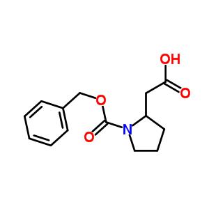 2-(1-(苄氧基羰基)吡咯烷-2-基)乙酸 889953-03-1
