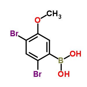 89677-46-3 (2,4-dibromo-5-methoxy-phenyl)boronic acid