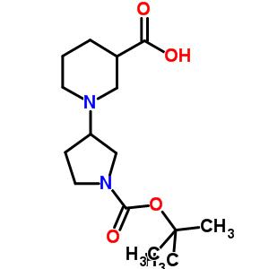 903094-72-4 1-(1-tert-butoxycarbonylpyrrolidin-3-yl)piperidine-3-carboxylic acid