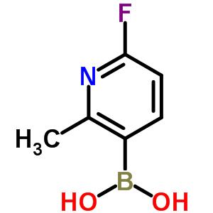 904326-91-6 (6-fluoro-2-methyl-3-pyridyl)boronic acid