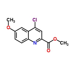 905807-62-7 methyl 4-chloro-6-methoxy-quinoline-2-carboxylate