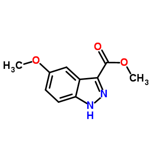 90915-65-4 methyl 5-methoxy-1H-indazole-3-carboxylate
