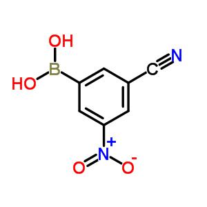913835-33-3 (3-cyano-5-nitro-phenyl)boronic acid