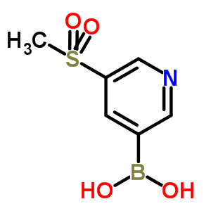 913836-01-8 (5-methylsulfonyl-3-pyridyl)boronic acid