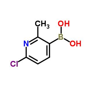913836-15-4 (6-chloro-2-methyl-3-pyridyl)boronic acid