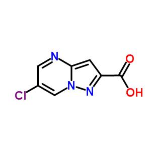 914206-75-0 6-chloropyrazolo[1,5-a]pyrimidine-2-carboxylic acid