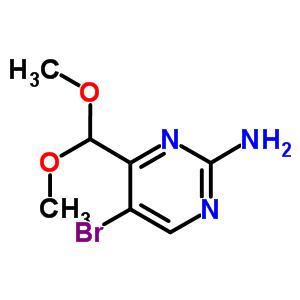 914347-52-7 5-bromo-4-(dimethoxymethyl)pyrimidin-2-amine