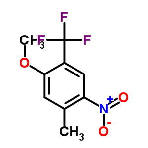 933673-45-1 1-methoxy-5-methyl-4-nitro-2-(trifluoromethyl)benzene