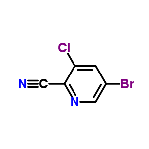 5-溴-3-氯吡啶-2-甲腈 945557-04-0