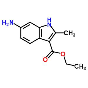 945655-37-8 Ethyl 6-amino-2-methyl-1H-indole-3-carboxylate