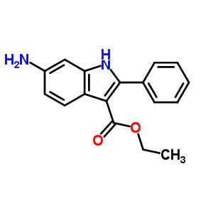 945655-38-9 Ethyl 6-amino-2-phenyl-1H-indole-3-carboxylate