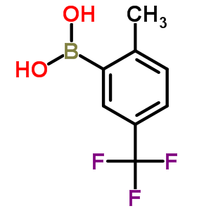 2-甲基-5-三氟甲基苯硼酸 947533-96-2