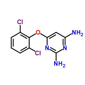 6-(2,6-二氯苯氧基)-2,4-二氨基嘧啶 948550-81-0