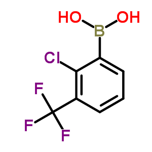 851756-52-0;957061-11-9 [2-chloro-6-(trifluoromethyl)phenyl]boronic acid