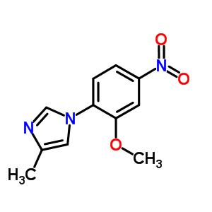 958245-17-5 1-(2-methoxy-4-nitro-phenyl)-4-methyl-imidazole