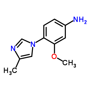 958245-18-6 3-methoxy-4-(4-methylimidazol-1-yl)aniline