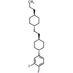1,2-二氟-4-(反式-4-(2-(反式-4-丙基环己基)乙基)环己基)苯 117943-37-0