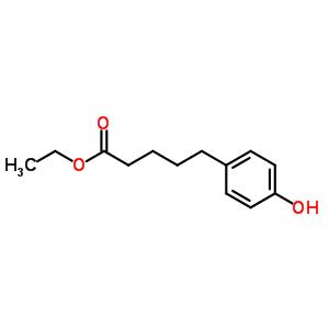 154044-13-0 ethyl 5-(4-hydroxyphenyl)pentanoate