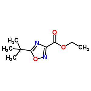 158154-63-3 ethyl 5-tert-butyl-1,2,4-oxadiazole-3-carboxylate