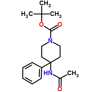 182621-52-9 tert-butyl 4-acetamido-4-phenyl-piperidine-1-carboxylate