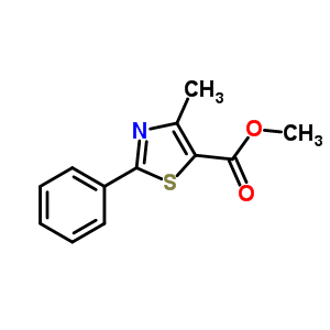 4-Methyl-2-phenyl-5-thiazolecarboxylic acid methyl ester 189271-66-7