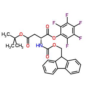 200335-75-7 O4-tert-butyl O1-(2,3,4,5,6-pentafluorophenyl) (2R)-2-(9H-fluoren-9-ylmethoxycarbonylamino)butanedioate