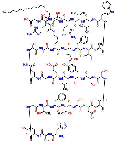 204656-20-2 (4S)-5-[[(5S)-5-[[(2S)-2-[[(2S)-2-[[(2S)-5-amino-2-[[2-[[(2S)-2-[[(2S)-2-[[(2S)-2-[[(2S)-2-[[(2S)-2-[[(2S)-2-[[(2S)-2-[[(2S)-2-[[(2S,3R)-2-[[(2S)-2-[[(2S,3R)-2-[[2-[[(2S)-2-[[(2S)-2-[[(2S)-2-amino-3-(1H-imidazol-5-yl)propanoyl]amino]propanoyl]amino]-5-hyd