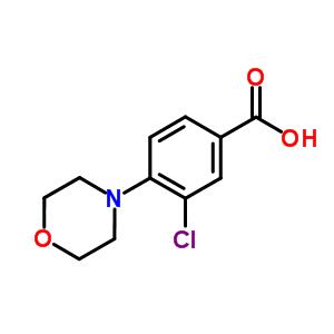 26586-20-9 3-chloro-4-morpholino-benzoic acid