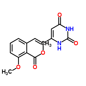 365542-66-1 methyl 2-[(E)-2-(2,4-dioxo-1H-pyrimidin-6-yl)vinyl]-6-methoxy-benzoate