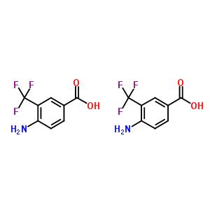3-三氟甲基-4-氨基苯甲酸 400-76-0