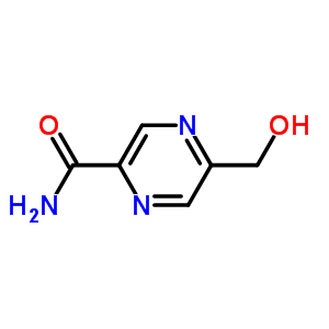 412277-94-2 5-(hydroxymethyl)pyrazine-2-carboxamide