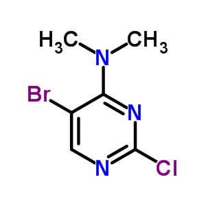 57054-86-1 5-bromo-2-chloro-N,N-dimethylpyrimidin-4-amine