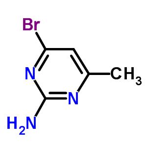 2-Amino-4-bromo-6-methylpyrimidine 5734-71-4