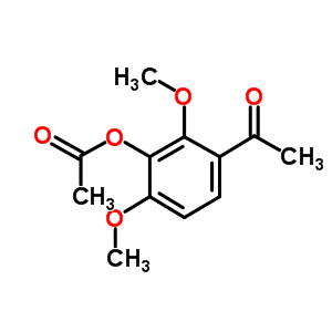 63604-86-4 (3-acetyl-2,6-dimethoxy-phenyl) acetate