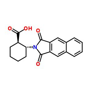 (1R,2R)-2-(萘-2,3-二甲酰亚胺基)环己甲酸 642995-15-1