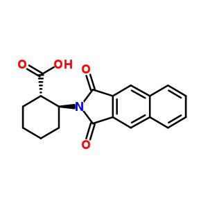 (1S,2S)-2-(萘-2,3-二甲酰亚胺基)环己甲酸 642995-16-2