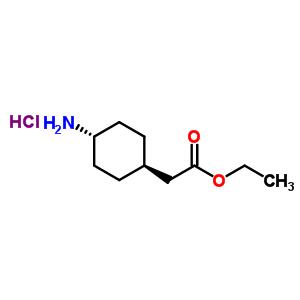 Ethyl (trans-4-aminocyclohexyl)acetate hydrochloride 76308-26-4
