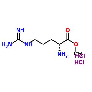 78851-84-0 methyl (2R)-2-amino-5-guanidino-pentanoate dihydrochloride