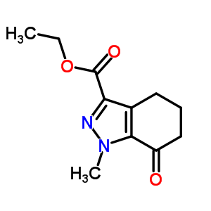 802541-13-5 ethyl 1-methyl-7-oxo-5,6-dihydro-4H-indazole-3-carboxylate