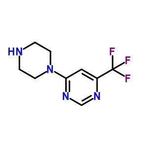 845616-55-9 4-(Piperazin-1-yl)-6-(trifluoromethyl)pyrimidine