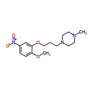 1-[3-(2-甲氧基-5-硝基苯氧基)丙基]-4-甲基哌嗪 846023-54-9