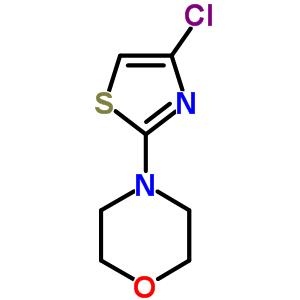 848841-68-9 4-(4-chlorothiazol-2-yl)morpholine