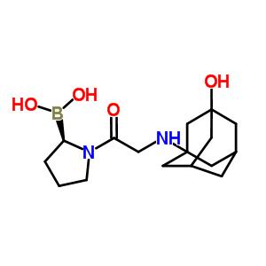 852331-49-8 [(2R)-1-[2-[(3-hydroxy-1-adamantyl)amino]acetyl]pyrrolidin-2-yl]boronic acid