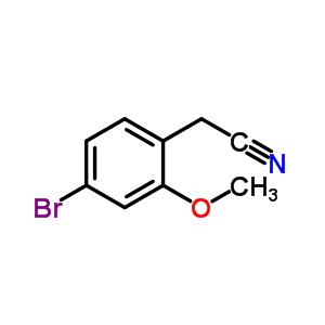 858523-37-2 (4-Bromo-2-methoxyphenyl)acetonitrile