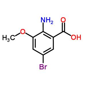 2-氨基-5-溴-3-甲氧基苯甲酸 864293-44-7