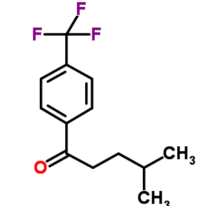 869318-90-1 4-methyl-1-[4-(trifluoromethyl)phenyl]pentan-1-one